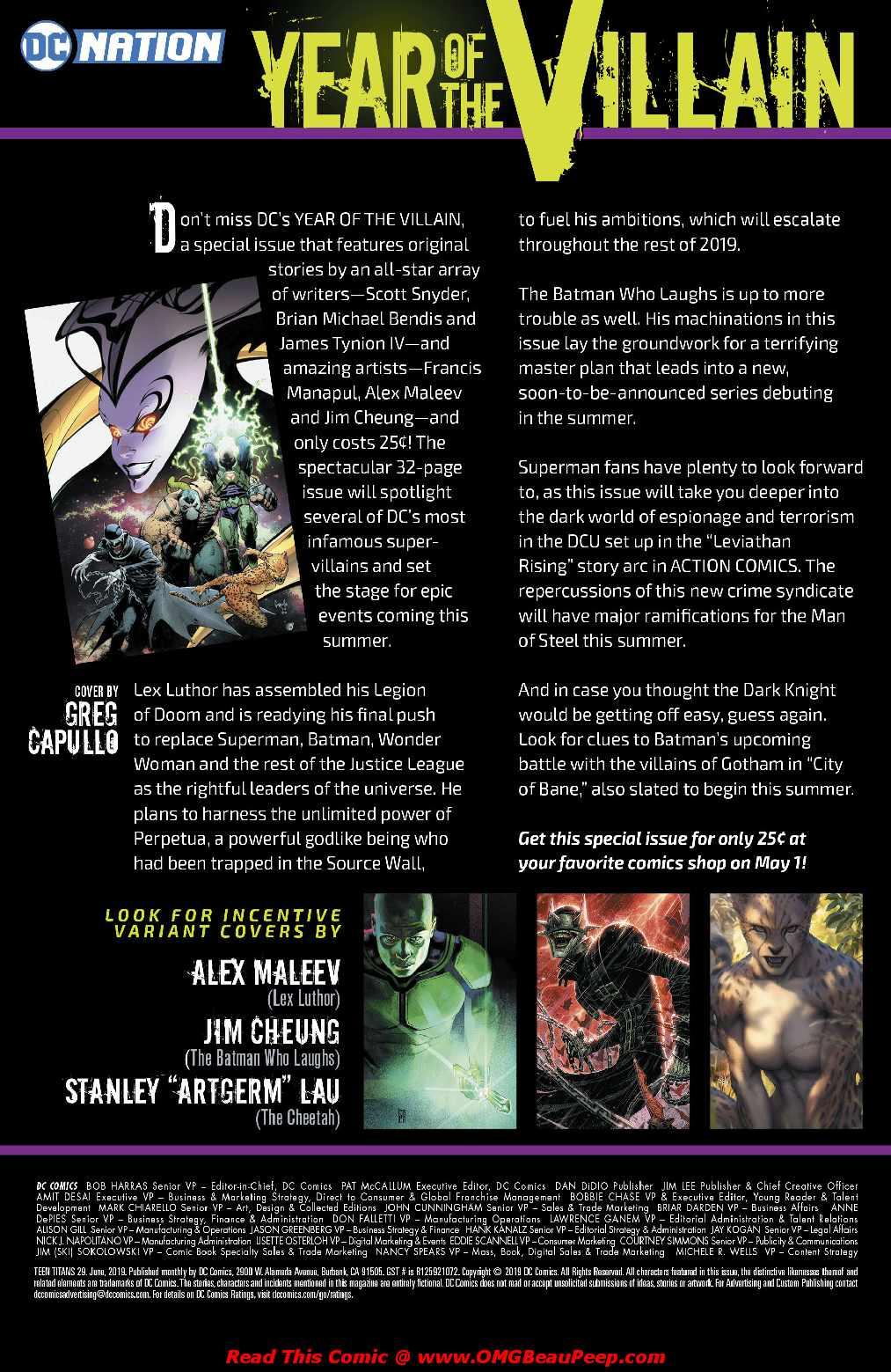 Read Comics Online Free - Teen Titans (2016) - Chapter 029
